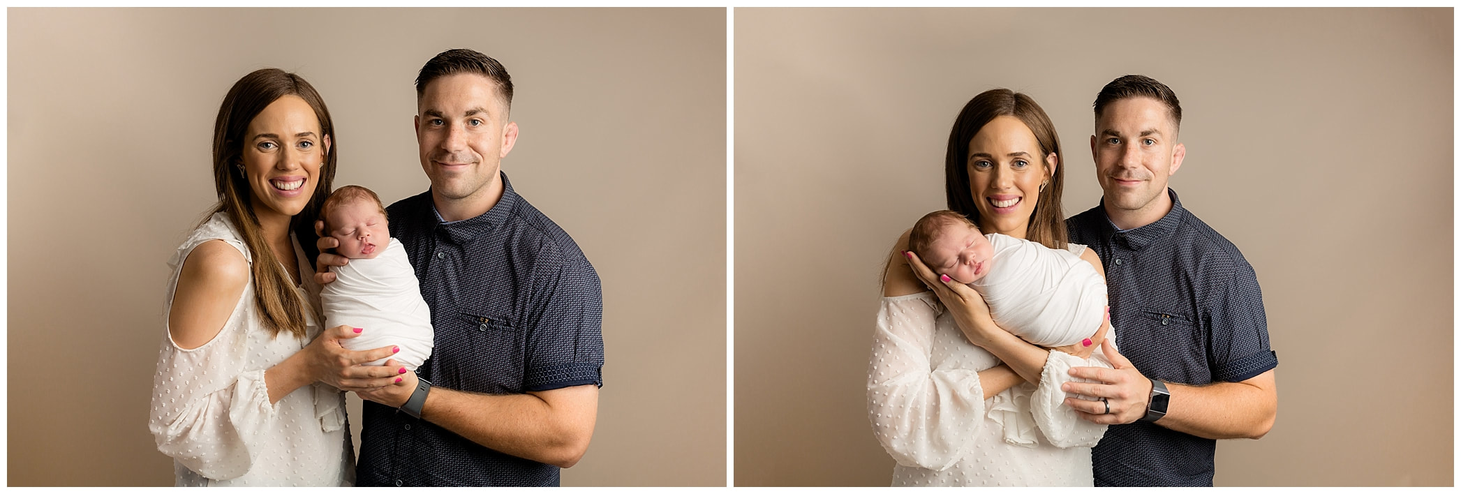 Parent images with newborn by Lynne Harper Photography