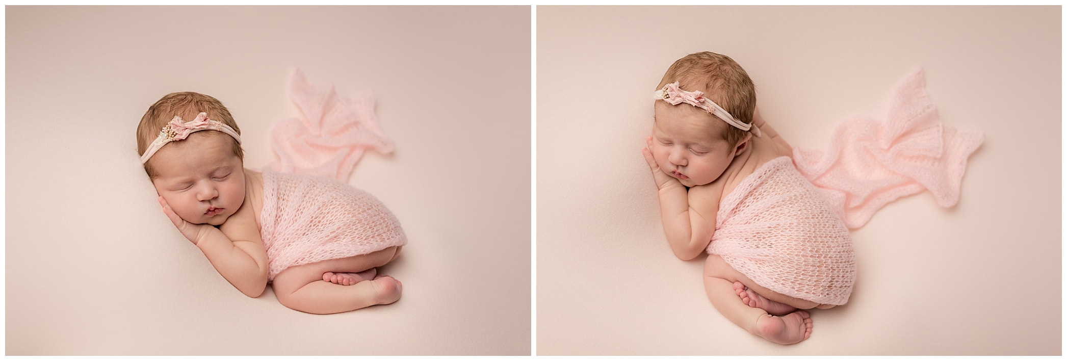 Tushie pose by Lynne Harper baby photographer